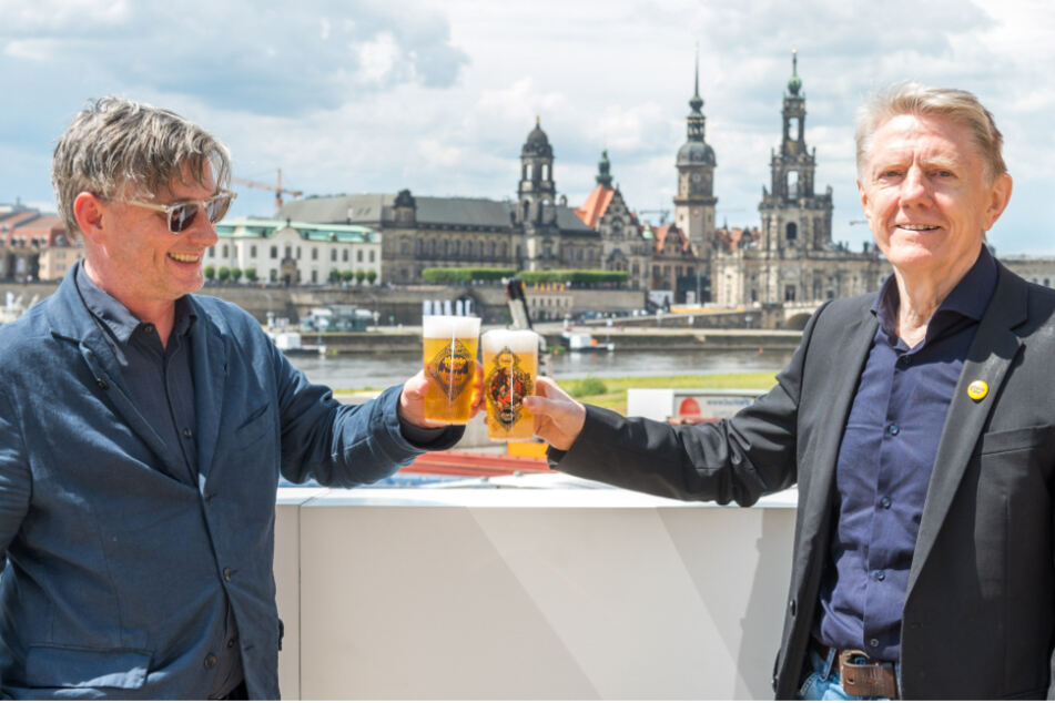 Die beiden Filmnächte-Geschäftsführer Matthias Pfitzner (53) und Johannes Vittinghoff (66) sind froh, dass trotz der Umstände die 30. Saison stattfinden kann.