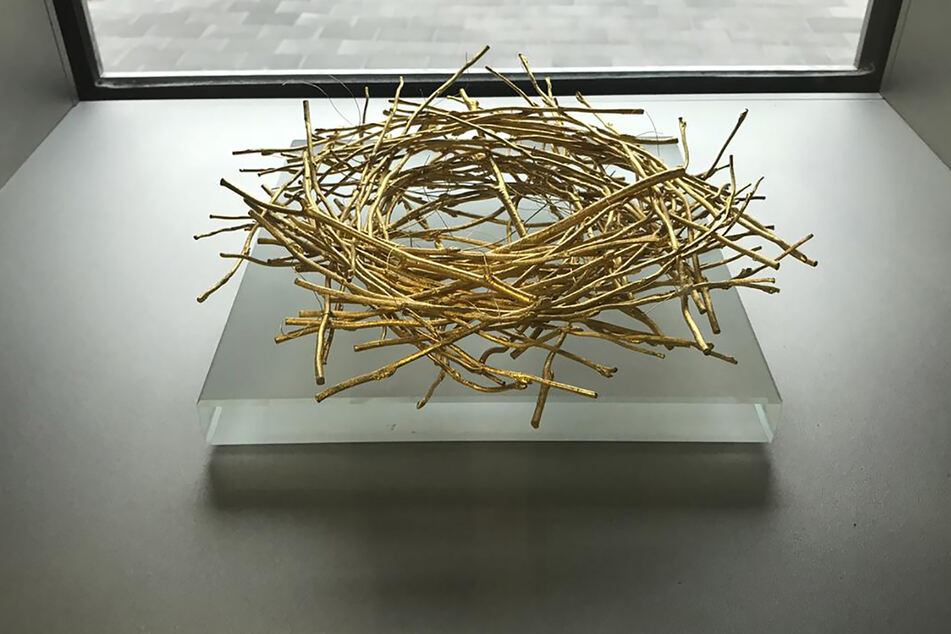 Das goldene Nest hat einen Wert von etwa 28.000 Euro.