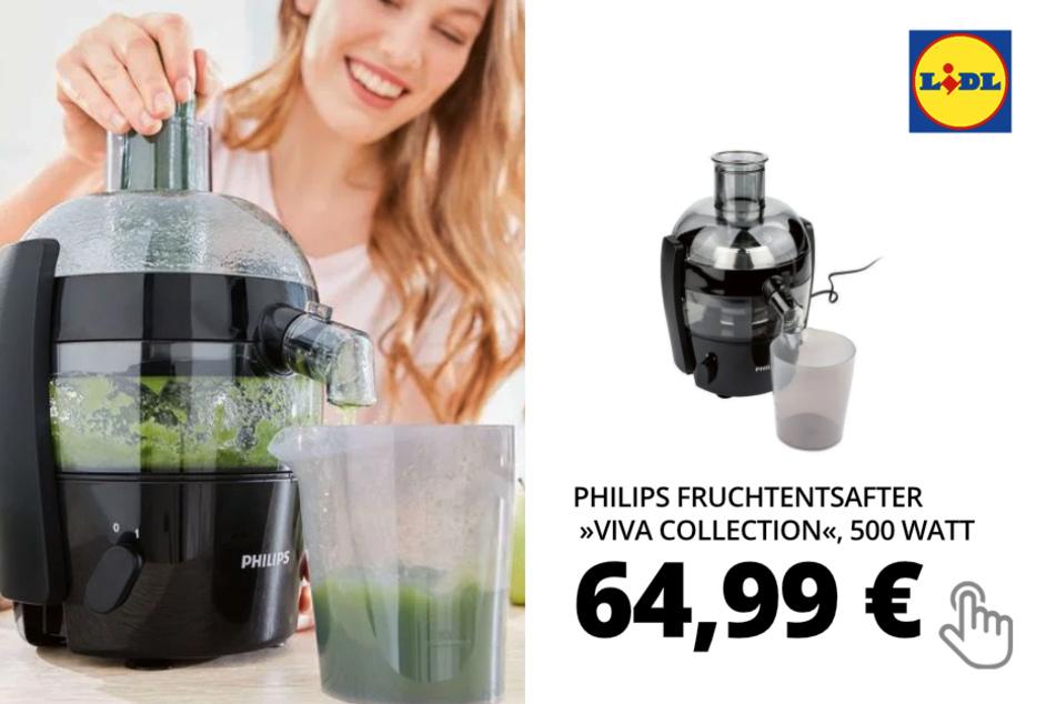 PHILIPS Fruchtentsafter »Viva Collection«