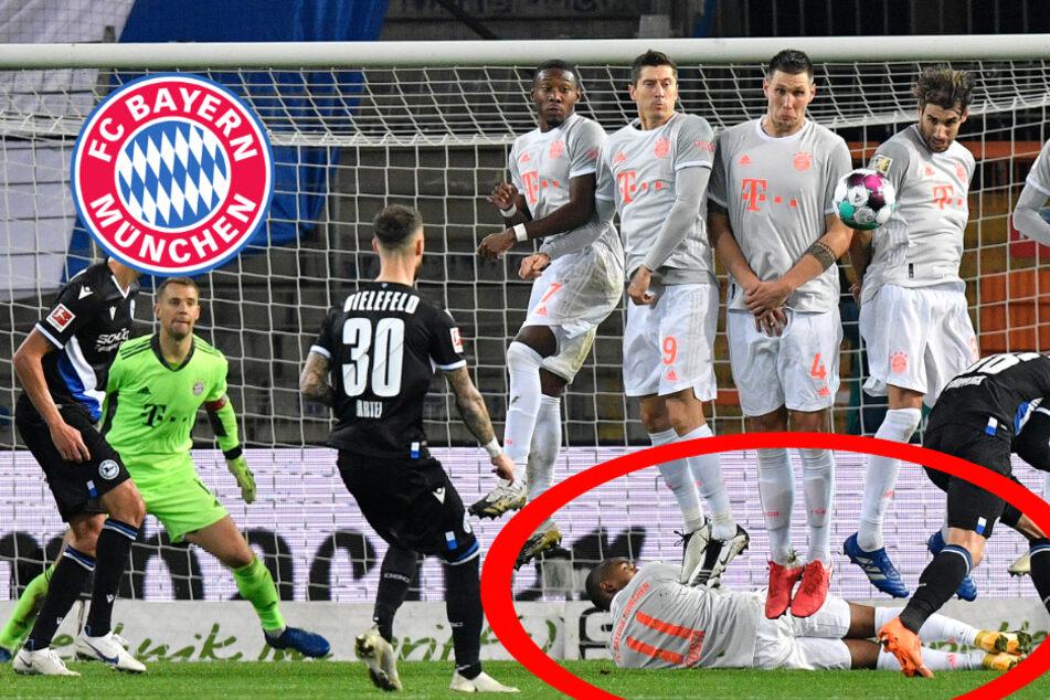 """""""Sah schon lustig aus"""": Prellbock Costa bringt Bayern-Team zum Lachen"""