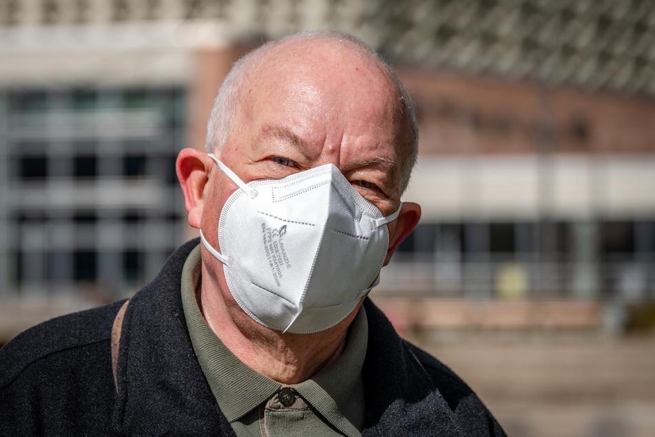 Hans-Detlef Thieme (76) freut sich über seine Gesundheit.