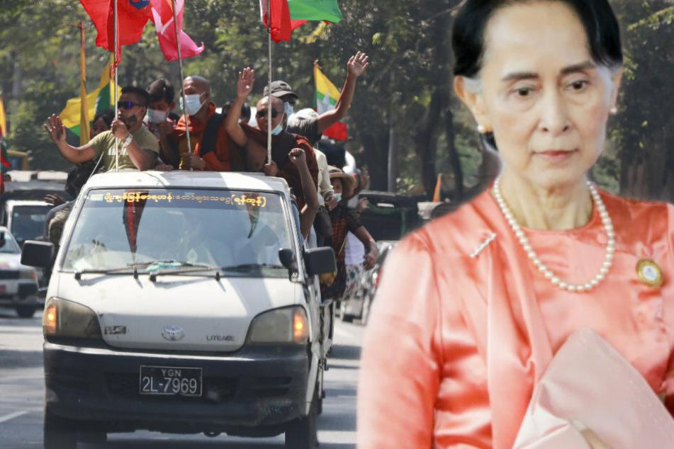 Putsch in Myanmar: Militär übernimmt Macht und ruft Notstand aus!