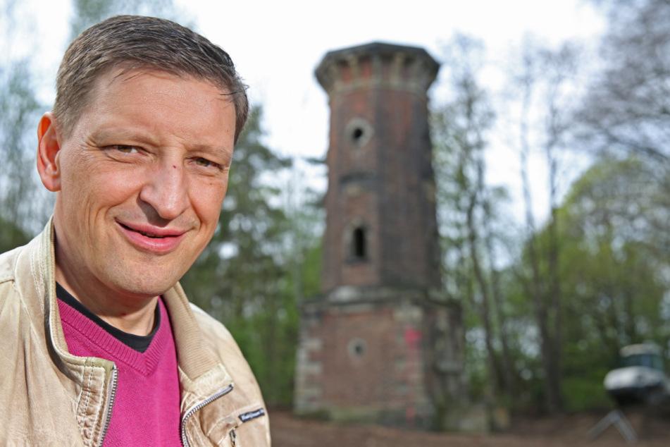 Jens Genschmar (51, Freie Wähler) kritisiert die Stadt als Bauherr.