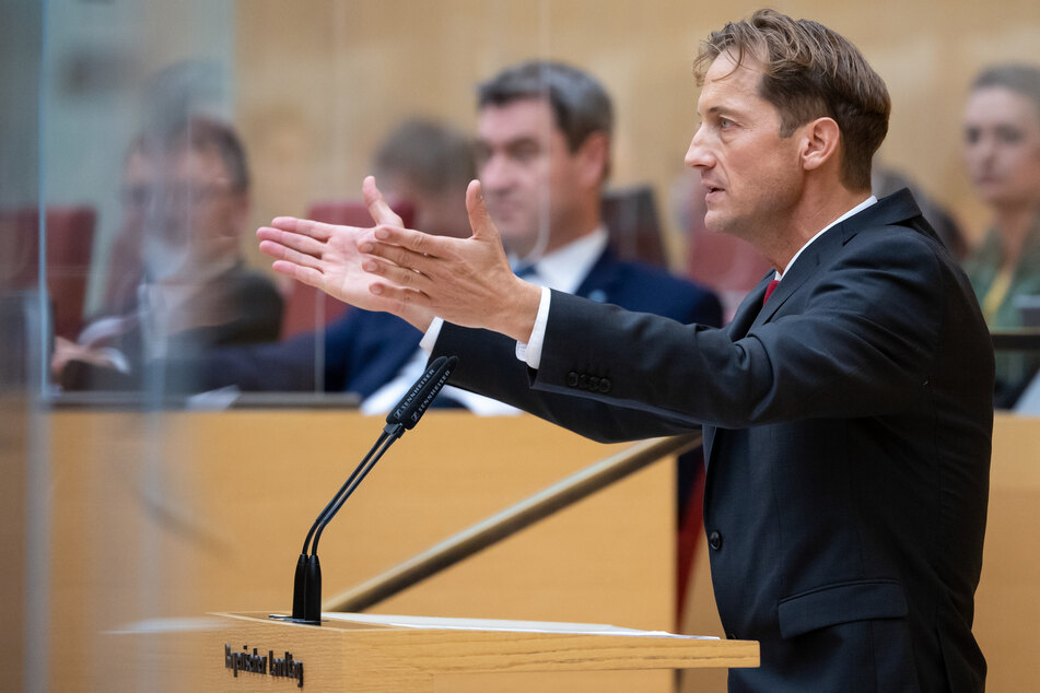 Ingo Hahn ist der Vorsitzender der AfD-Fraktion im Bayerischen Landtag.