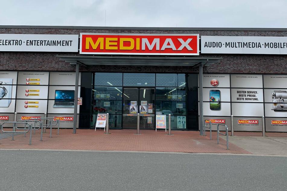 Räumungsverkauf wegen Schließung bei MEDIMAX