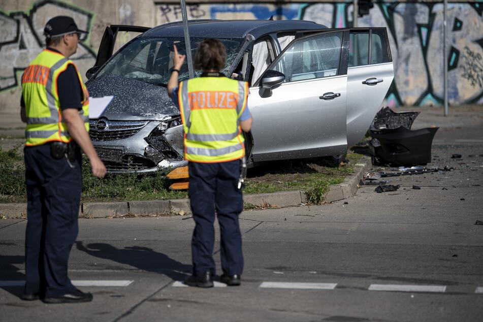 Provozierte Unfälle: Ermittlungen gegen neun Tatverdächtige