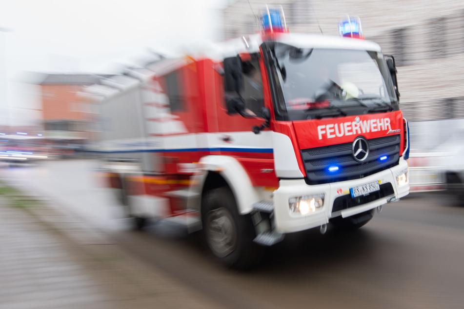 Die Feuerwehr brachte das Kind in Sicherheit. (Symbolbild)