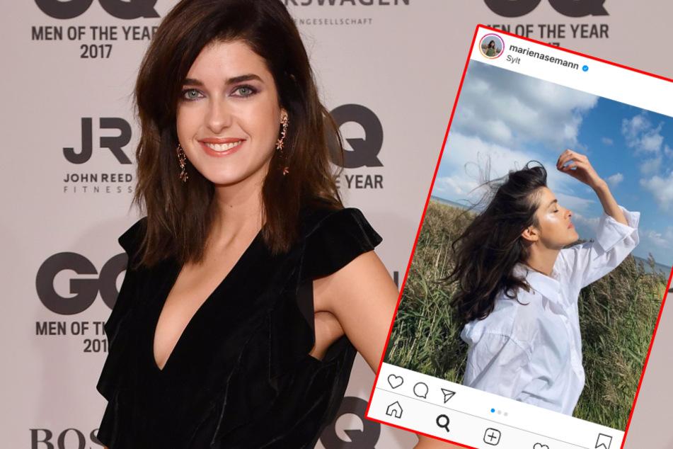 Schlechte Mutter? Model Marie Nasemann platzt auf Instagram der Kragen