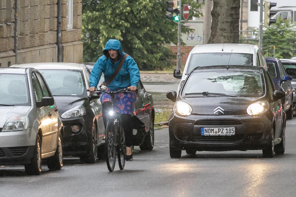 Dresden baut: Hier muss eine Fahrspur neuen Radwegen weichen