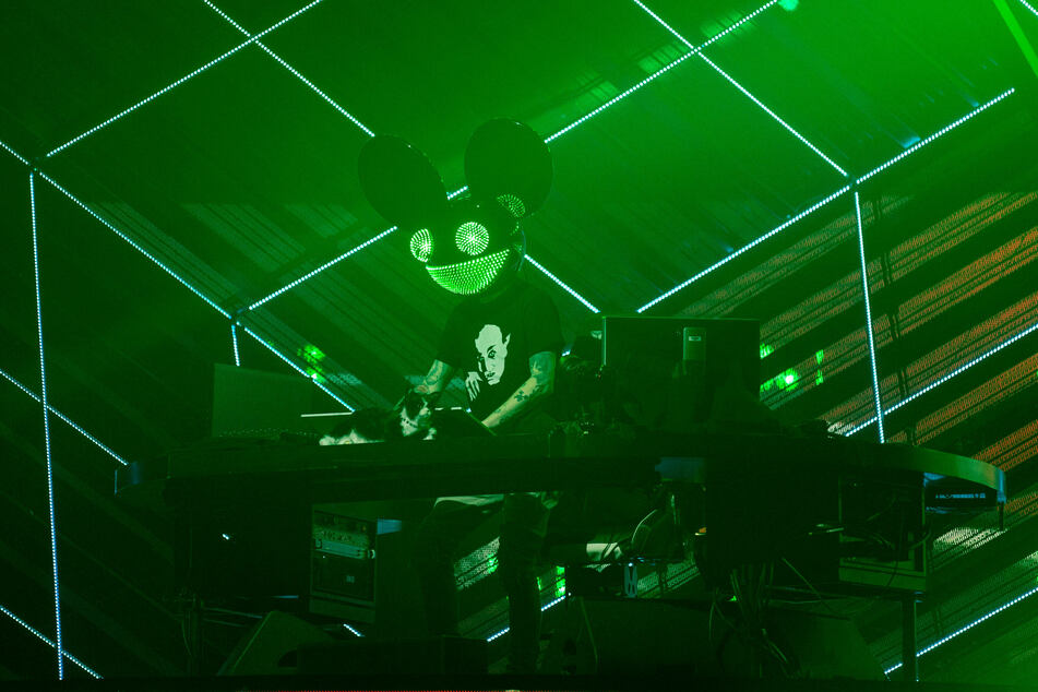 Deadmau5 will be performing at Bushy Creek Amphitheater on Friday.