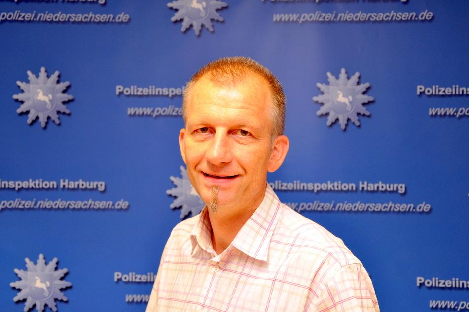 Carsten Bünger, Beauftragter für Kriminalprävention bei der Polizeiinspektion Harburg.