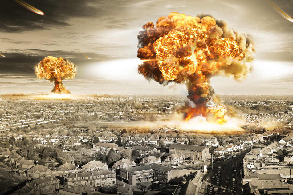 The US deployed two atomic bombs over the Japanese cities of Hiroshima and Nagasaki in August 1945, and remain the only use of nuclear weapons in conflict to date (stock image).