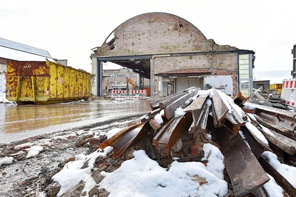 Straßenbahn-Depot Tolkewitz abgerissen: Doch was nun?