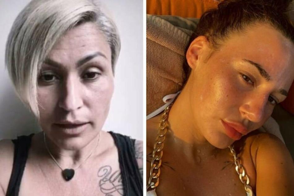 Jasmin Herren (42, l.) erhob jüngst erneut schwere Vorwürfe gegen Stieftochter Alessia Herren (19).