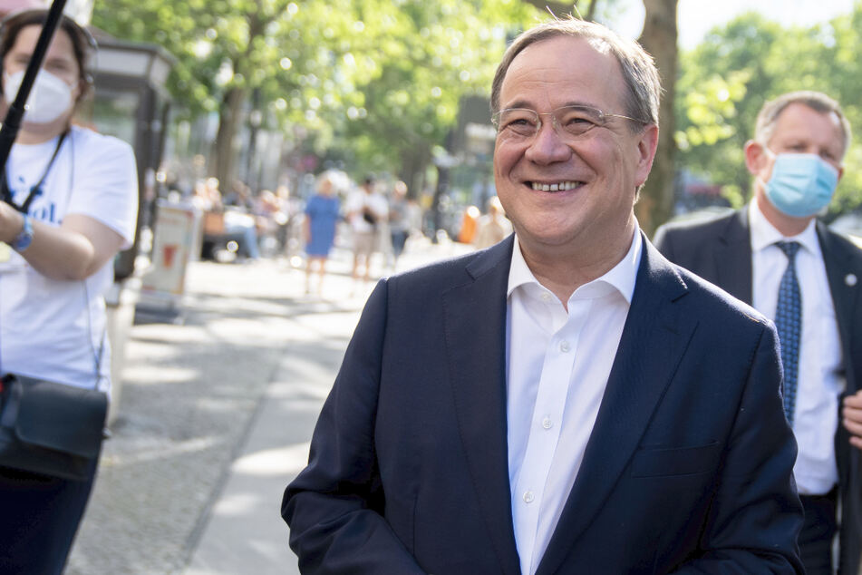 Unions-Kanzlerkandidat Armin Laschet (60) zu Gast in Baden-Württemberg.