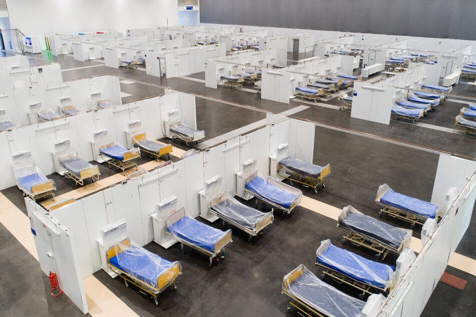485 Betten standen in Hannover für den Notfall bereit.