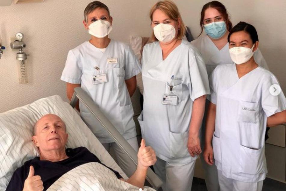 """Im Bonner Universitätsklinikum wurde """"Calli"""" vor wenigen Tagen die überschüssige Haut entfernt. Diese hatte ein Eigengewicht von 11,6 Kilogramm."""