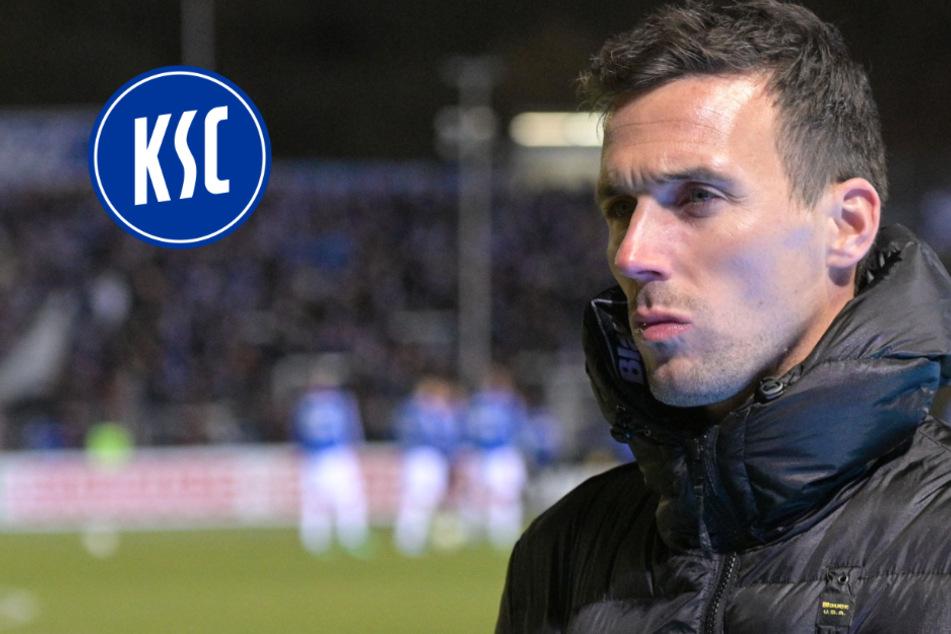 Nach Wellenreuther-Rücktritt: Das fordert KSC-Coach Eichner jetzt
