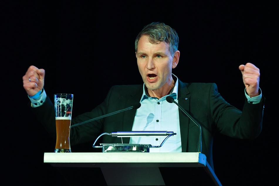 """Björn Höcke, Thüringens AfD-Vorsitzender. Der von AfD-Politikern gegründete rechtsnationale """"Flügel"""" ist für den Verfassungsschutz jetzt offiziell ein Beobachtungsfall."""