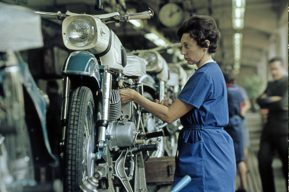 Zu DDR-Zeiten war sie heiß begehrt: Die 150er-MZ des VEB Motorradwerkes Zschopau.