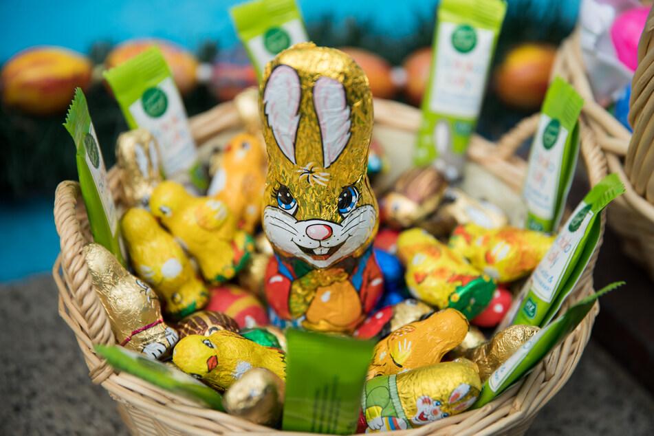 Auch vor Ostern kaufen die Menschen gern viel ein – nicht nur Süßigkeiten (Archivbild).