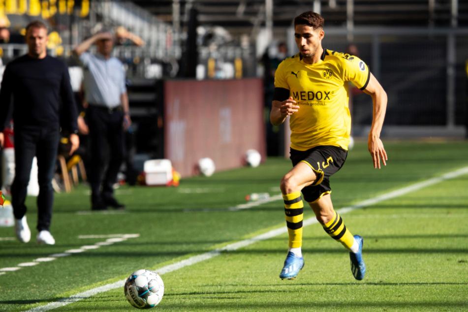 Achraf Hakimis Flügelläufe werden der Bundesliga fehlen. Er kann seine Qualitäten nun in der Serie A zeigen.