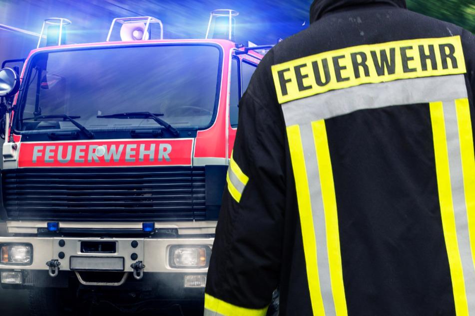 Zahlreiche Einsatzkräfte der Feuerwehr löschten den Brand (Symbolbild).