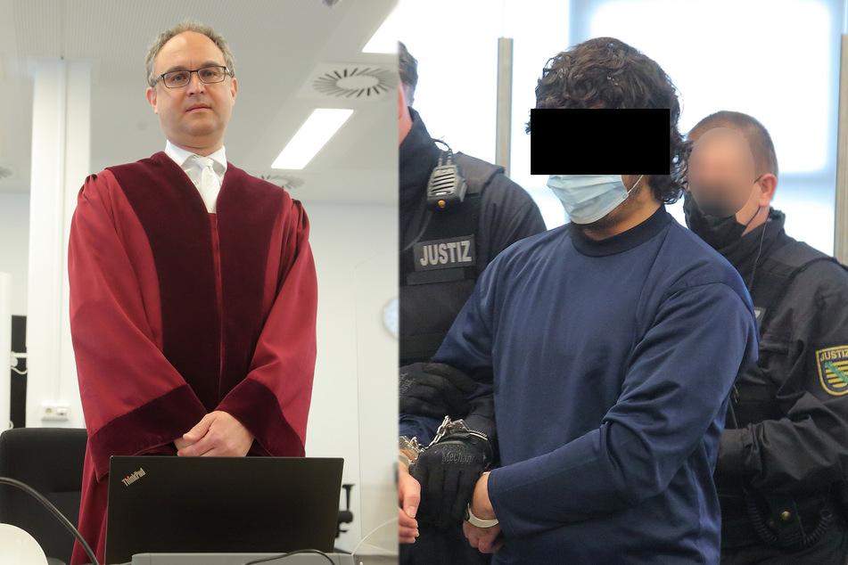 Messer-Mord in Dresden: Staatsanwaltschaft fordert lebenslang