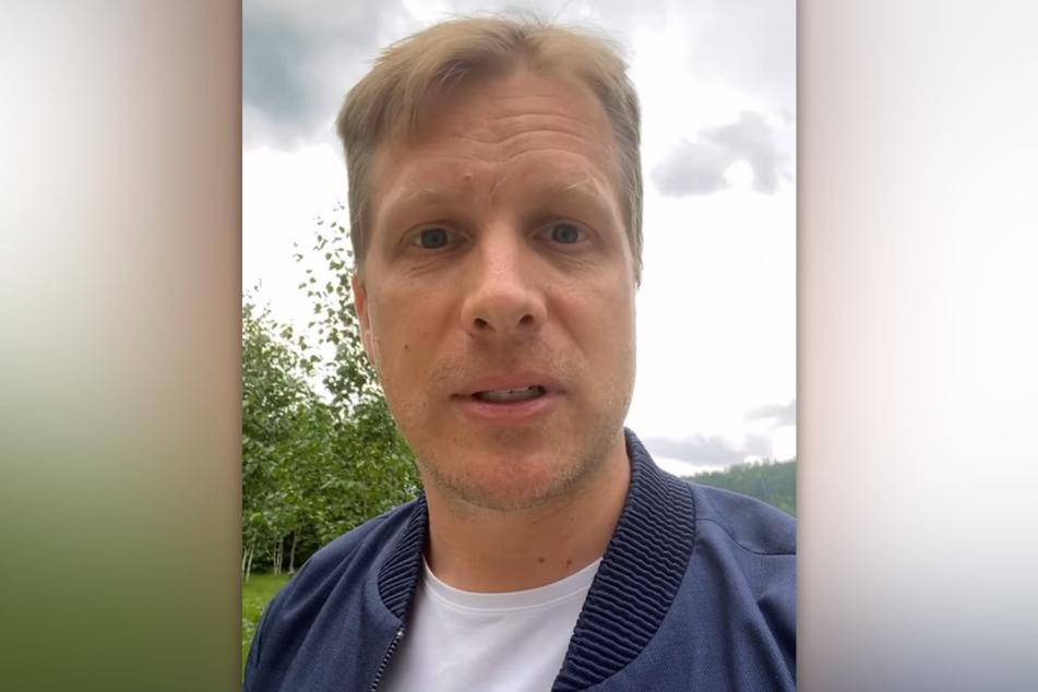 Oliver Pocher (43) hat ein Foto des dänischen Fußballspielers Christian Eriksen (29) bei Instagram gepostet und dafür einen Shitstorm kassiert.