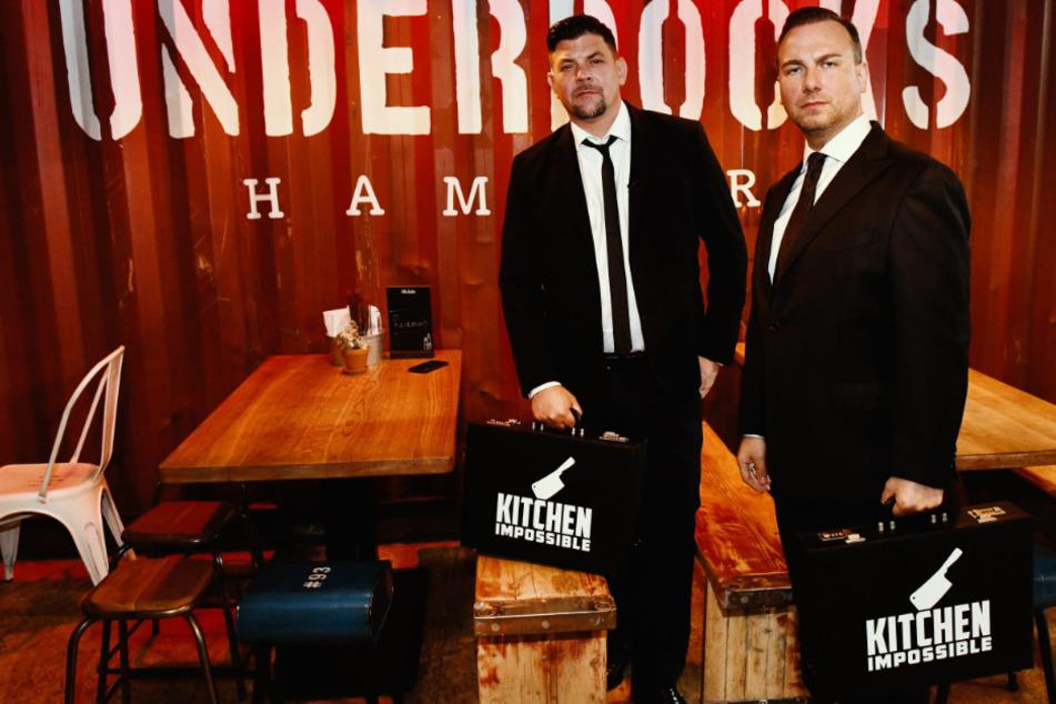 """Tim Mälzer (49) und Tim Raue (46) bei """"Kitchen Impossible."""""""
