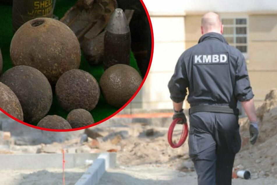 Jahrzehnte nach dem Krieg: So viele Kampfmittel werden in Sachsen noch immer gefunden!