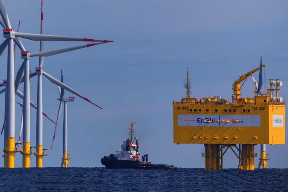 Crash auf Ostsee: Versorgungsschiffe kollidieren in Offshore-Windpark