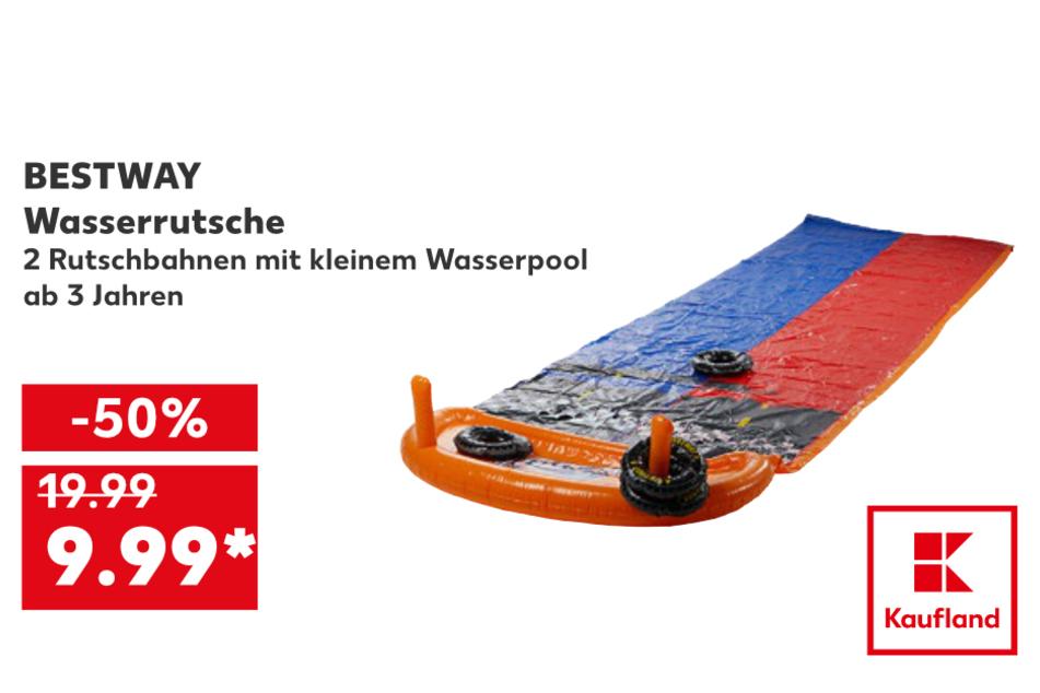 Wasserrutsche für 9,99 Euro
