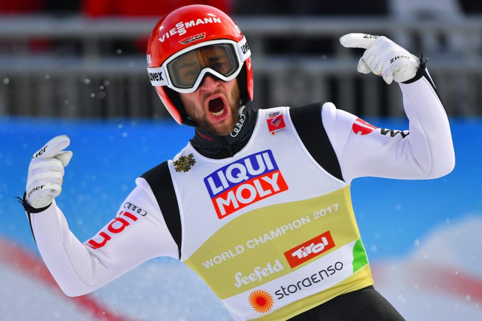 Deutsche Skisprung-Meisterschaften: Bayern-Quartett um Eisenbichler holt den Titel