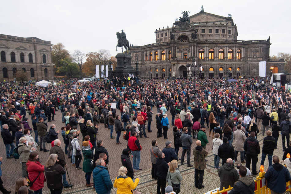 """Neue """"Querdenken""""-Demo in Dresden angemeldet!"""