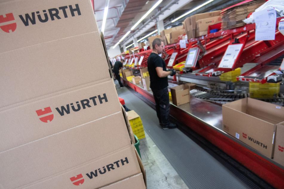 Bei Würth boomt das Online-Geschäft.