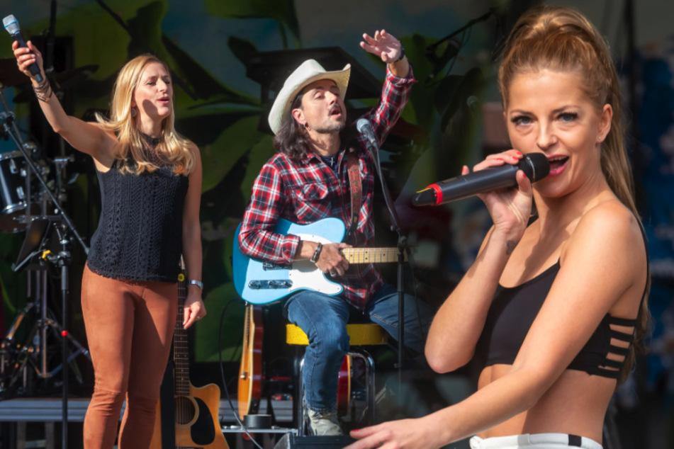 Royaler Glanz beim Familien-Heimspiel: Sachsen-Prinzessin Xenia singt mit Stefanie Hertel