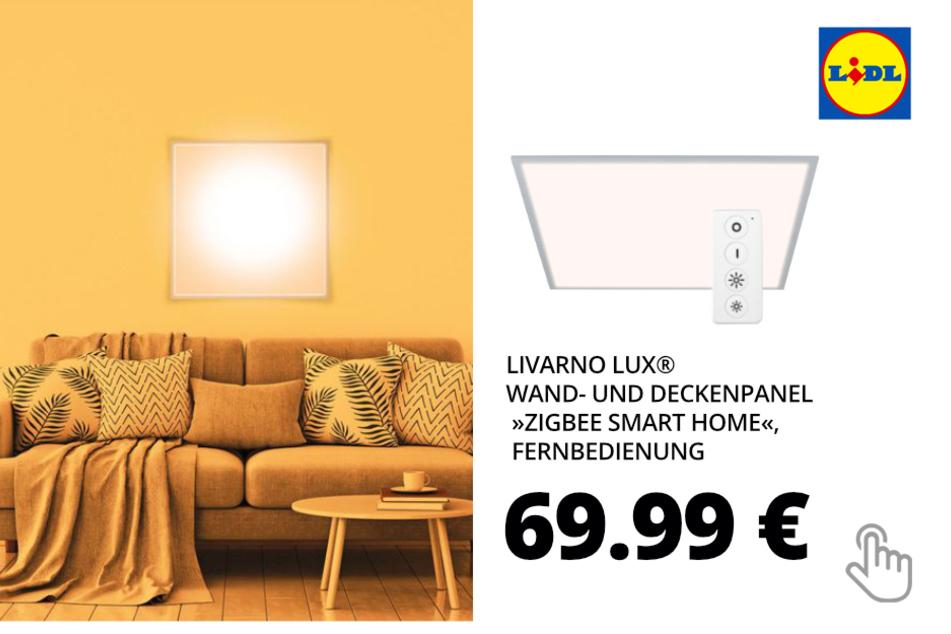 """LIVARNO LUX® Wand- und Deckenpanel """"Zigbee Smart Home"""", Fernbedienung"""