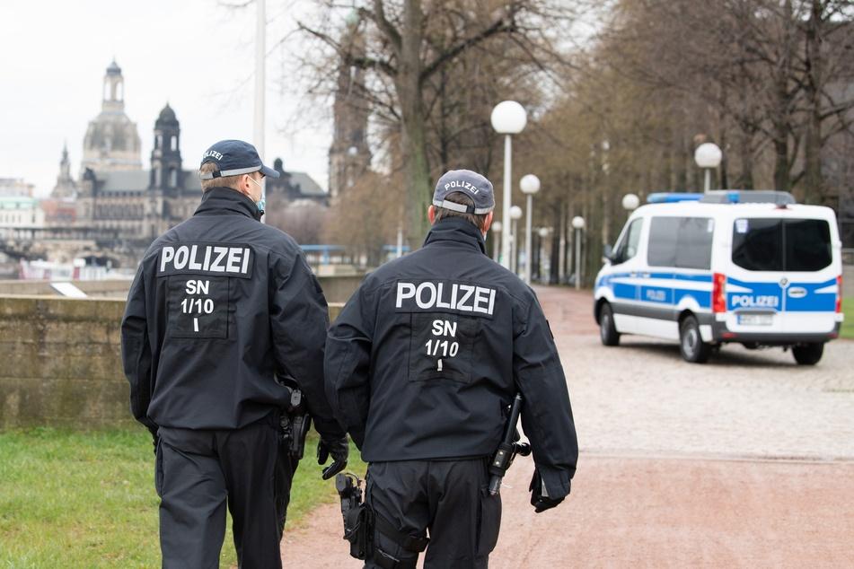 Die sächsischen Beamten sorgen für Recht und Ordnung im Land. Doch aufgrund einer Werbeaktion gibt es nun viel Aufregung. (Symbolbild)