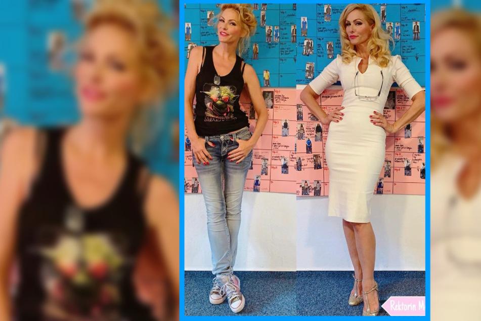 Sonya Kraus fragt Fans: Welches Outfit ist heißer?