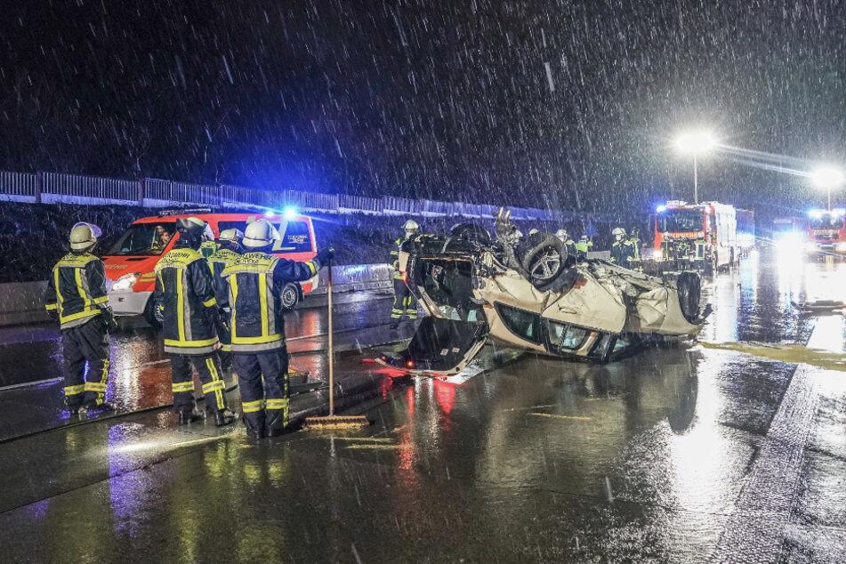 20-Jährige nach Unfall auf A8 schwer verletzt