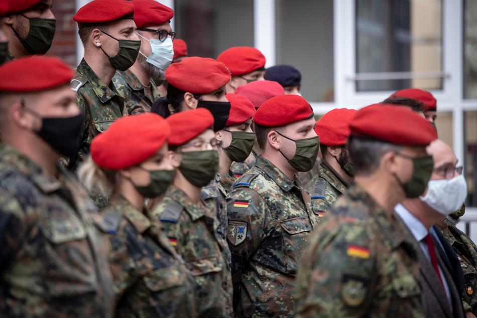 Im März 2020 begannen die Einsätze der Soldaten in den Bundesländern.