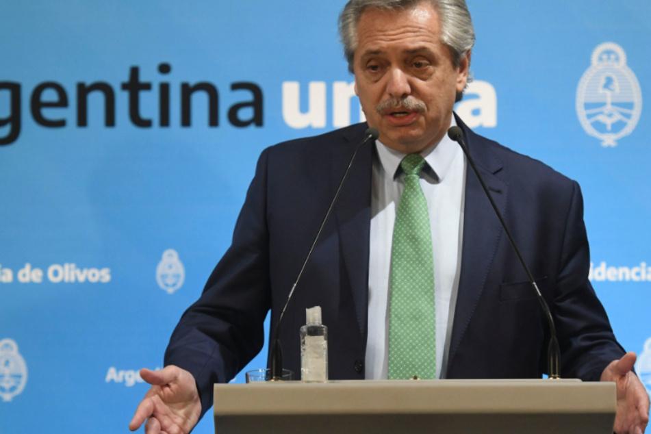 Alberto Fernandez lässt nun eine Ausnahme bei der Quarantäne-Regelung zu.