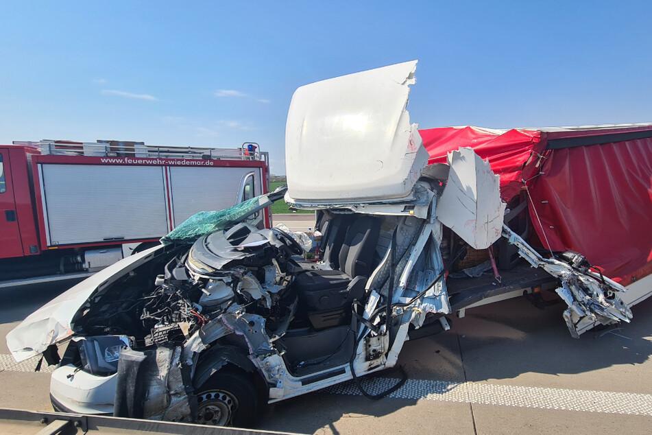 "Unfall A9: ""Total zertrümmertes Fahrzeug"": Crash auf der A9"