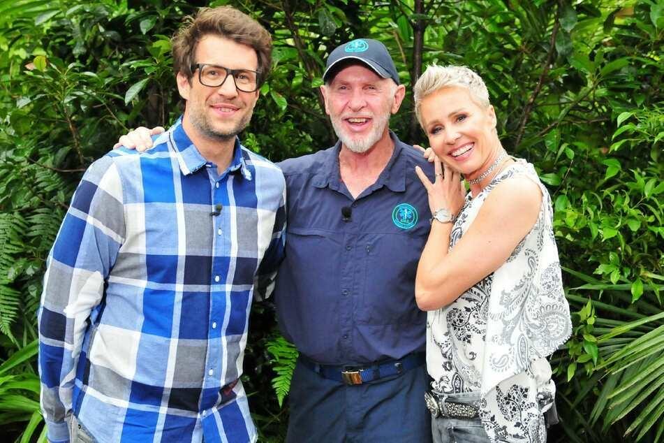 Die einzigen Dschungel-Konstanten: Daniel Hartwich (l.), Dr. Bob, Sonja Zietlow.