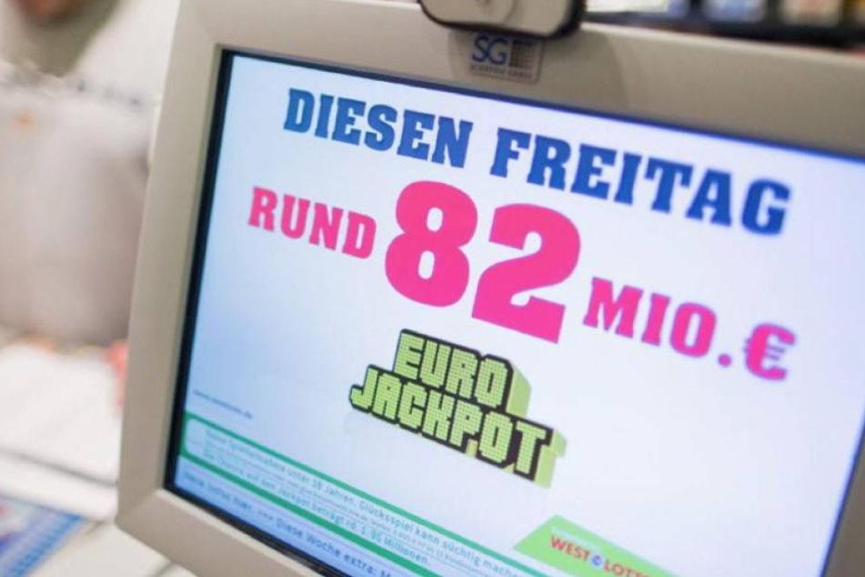 84,6 Mio. Euro: Rekord-Lotto-Gewinn für Spieler aus Hessen
