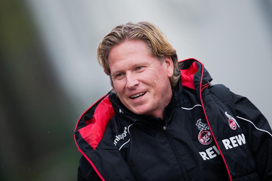 Trainer Markus Gisdol vom 1. FC Köln.