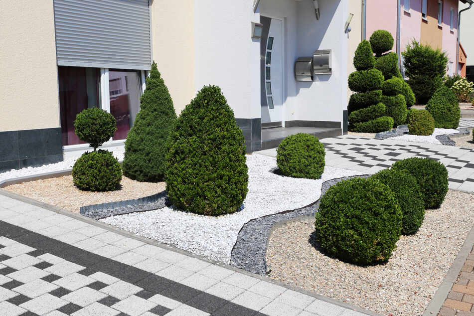 Klare Linien und Muster sowie manchmal etwas Grün. Für viele bestechen die Steingärten durch ihre Gestaltungsmöglichkeiten.