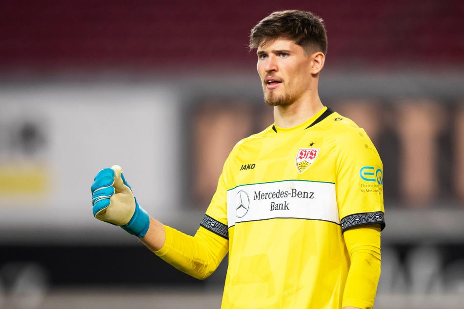 BVB-Neuzugang Gregor Kobel (23) beeindruckte in der Vorsaison beim VfB Stuttgart mit konstant starken Leistungen und wird voraussichtlich die klare Nummer eins in Dortmund sein.