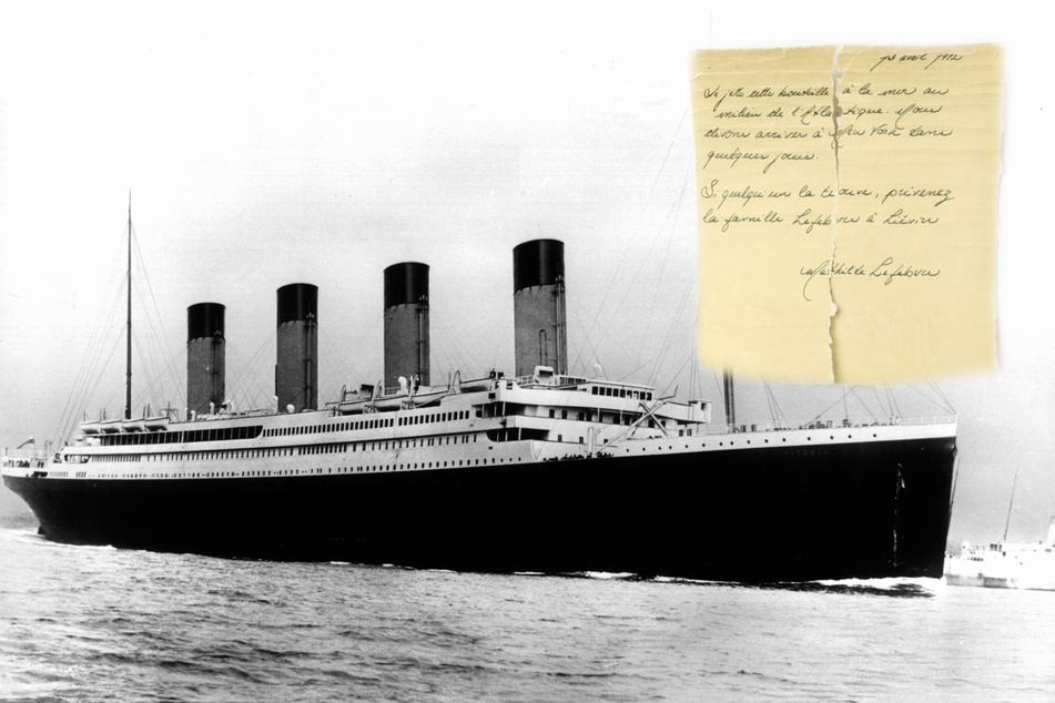 Von Titanic geworfene Flaschenpost angespült? Das steht in dem Brief!